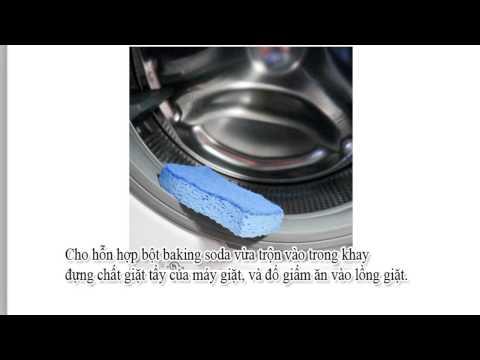 Hướng dẫn tự vệ sinh máy giặt lồng ngang tại nhà