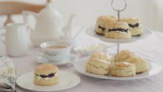 Easy British Scones Recipe breakfast  tea time