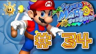 Guía Super Mario Sunshine - # 34 ( Playa Paradiso - 2 Soles Bonus y 100 Monedas Amarillas )