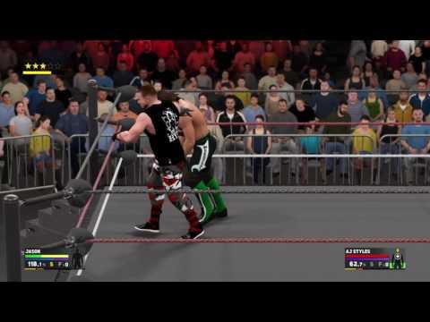 WWX Title match Me vs AJ Styles thumbnail