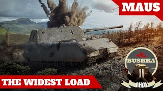 The Widest Load   The MAUS World of Tanks Blitz