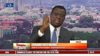 Vote Buying: INEC Insists There Will Be No Incident Form In 2019 Elections – Mike Igini Pt.1 thumbnail