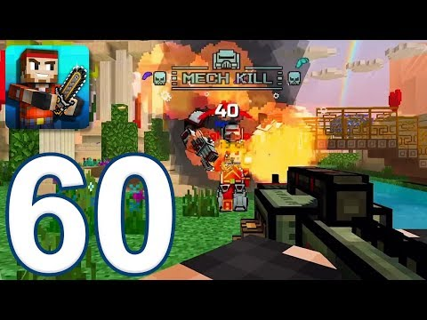 Pixel Gun 3D - Gameplay Walkthrough Part 60 - Mech Heavy Rifle (iOS, Android)