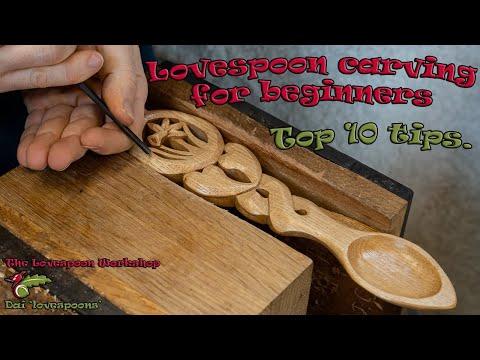 Beginners Love Spoon Carving (top Ten Tips)