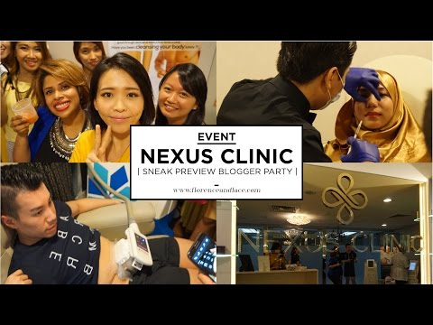 [EVENT] Nexus Clinic - The New Aesthetic Wing of Mediviron UOA   Florence & Lace