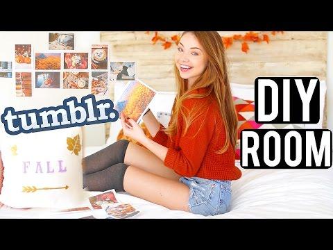 DIY Tumblr Room Decor + Fall Life Hacks!   Meredith Foster