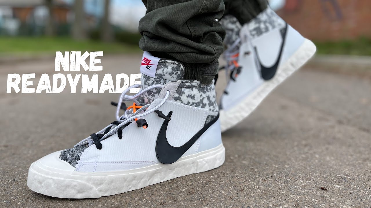 A New Favourite! Nike X Readymade Blazer Mid Review & On Foot