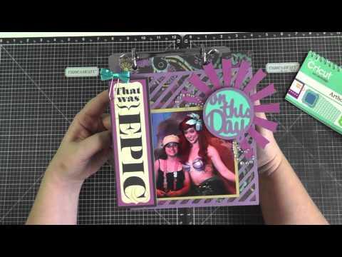 Cricut Artbooking Flipstand Mini Album