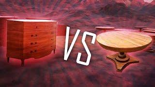 WEIRDEST BATTLE EVER!?! - Table VS Dresser - Ultimate Epic Battle Simulator (UEBS - Game / Gameplay(