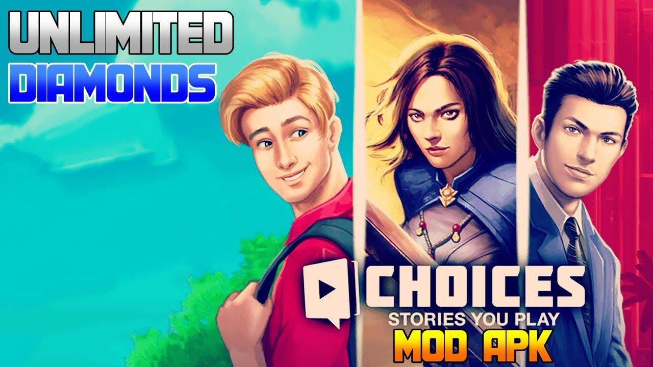 choices mod apk unlimited keys and diamonds 2.5.0