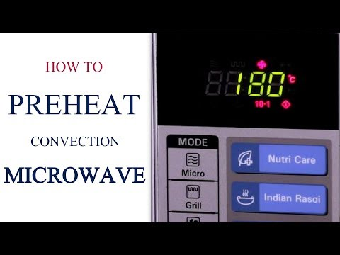 how-to-pre-heat-a-convection-microwave-|-oven-series-|-cakes-and-more