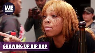 Briana Throws Her Drink at Lil Eazy-E!   Growing Up Hip Hop