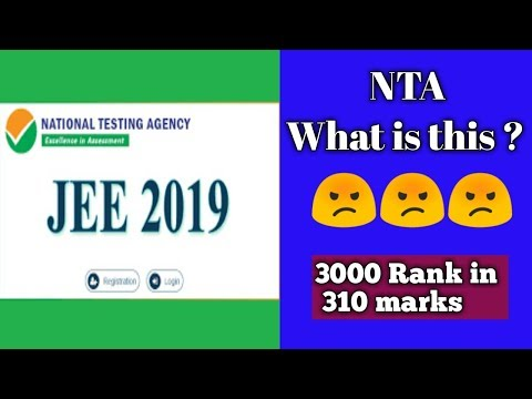 Shocking result by NTA in 2019 for jee mains | 3,000 Rank in 310 marks ?Wit?