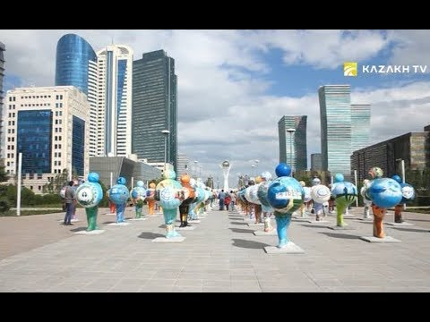 Astana walking tour