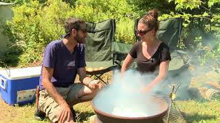 Camp Cooking with Scouts Canada