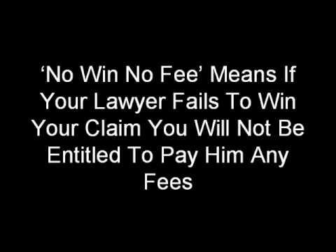 No Win No Fee Compensation Claim.