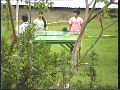 it's a hard life - seismic basecamp life - Southern Sumatra 1988