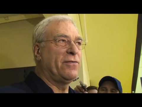 Lakers Coach Phil Jackson on the Golden State Warriors