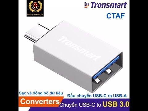 Đầu Chuyển USB-C Ra USB-A Chuẩn USB 3.0 TRONSMART CTAF