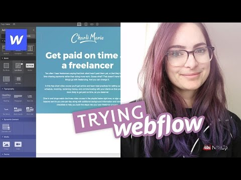 Building a site in Webflow - First impressions review!