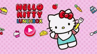 유아 어린이 키티 런치박스 도시락 만들기 게임 Kitt…