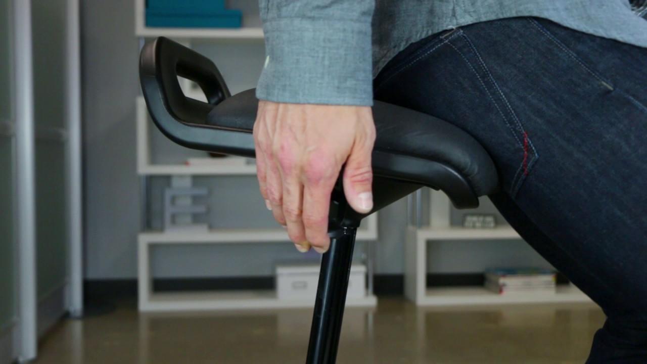 Standing Desk Chair VARIChair™ from VARIDESK & Standing Desk Chair VARIChair™ from VARIDESK - YouTube