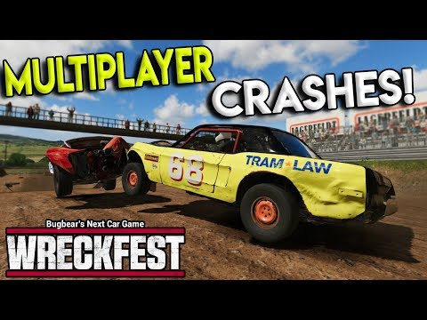 EXTREME MULTIPLAYER RACES & CRASHES! - Next Car Game: Wreckfest Gameplay - Wrecks & Races |
