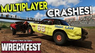 EXTREME MULTIPLAYER RACES & CRASHES! - Next Car Game: Wreckfest Gameplay - Wrecks & Races