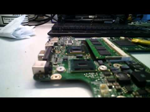 How to repair laptop from overheating with copper shims from Banggood