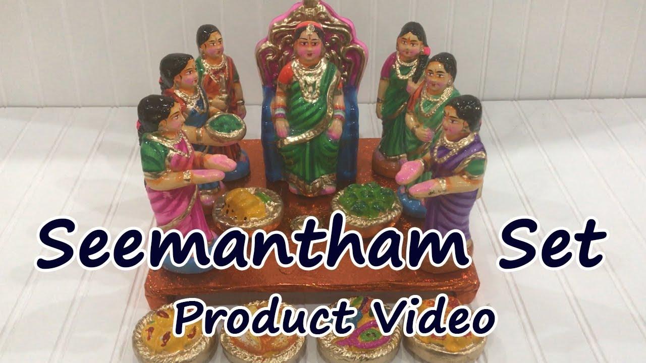 Seemantham Set Product Video Youtube