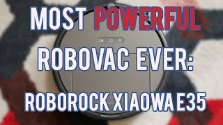 Roborock E35, The Most Powerful Vacuum Yet. But Is It Enough?