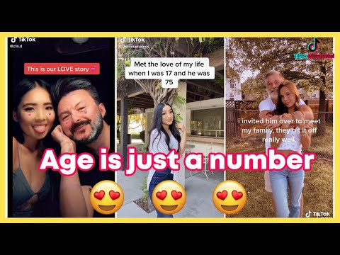 Big age gap couples on Tiktok (Age is just a number) | Tiktok Compilations