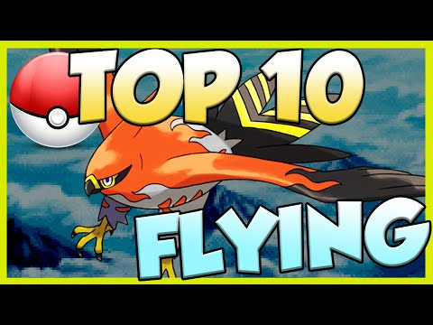 Top 10 Best Flying Type Pokemon! Flying Type Pokemon Facts, Stats, and Trivia!