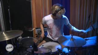 "Preoccupations performing ""Memory"" Live on KCRW"