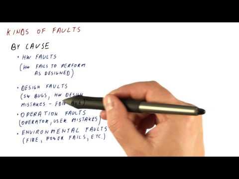 Kinds of Faults - Georgia Tech - HPCA: Part 5