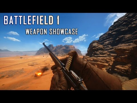 Battlefield 1 All Weapon Showcase | Battlefield 1 Beta