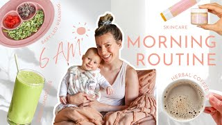 6 AM MORNING ROUTINE  Waking Up Early + Life With a 9 Month Old