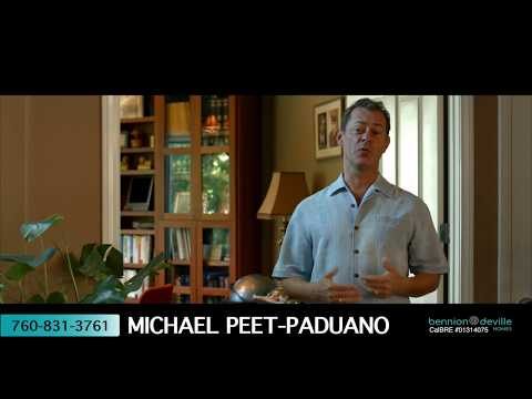 Michael Peet-Paduano Realtor Promo Video | Palm Springs