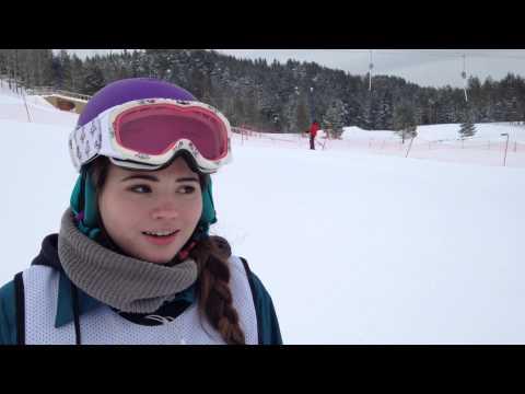 Интервью C Анной Елфимовой, победительницей 1 этапа 4 кубка Тобольска по сноуборду