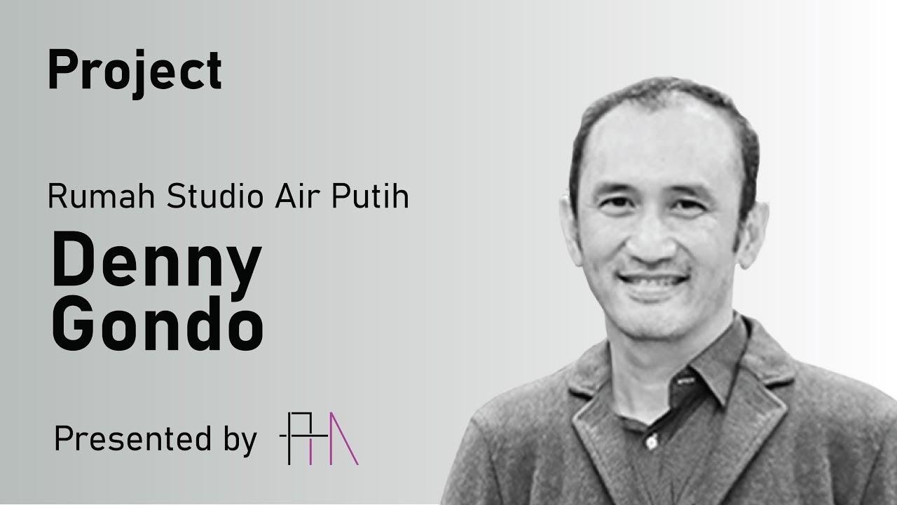 RUMAH STUDIO AIR PUTIH by Denny Gondo  DESIGN APPROACH
