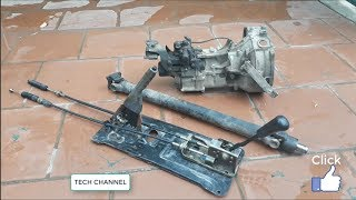TECH - Gearbox strong car - 5 forward and 1 reverse number
