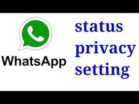 Whatsapp status me privacy settings kaise lagaye,in hindi,knowledge video  ,whatsapp,