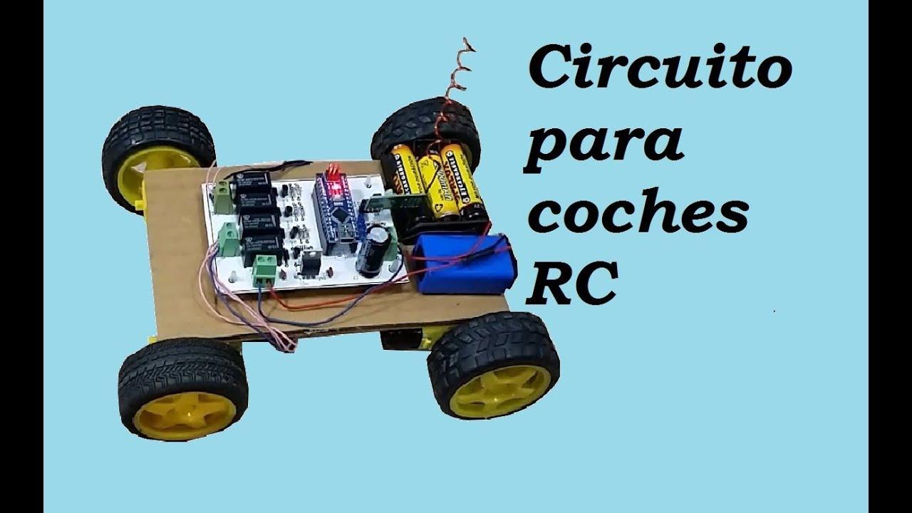 Circuito Emisor Receptor : Circuito emisor y receptor para coches a control remoto youtube