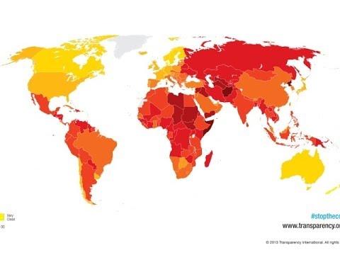 видео: Названы самые коррумпированные страны в 2013 году (новости)
