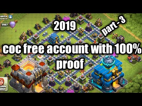 Coc Free Account Without I'd  100% Proof In 2019 |