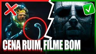 5 Cenas MUITO RUINS em filmes BONS!