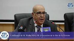 Mort de Redha Malek, négociateur des accords d'Evian