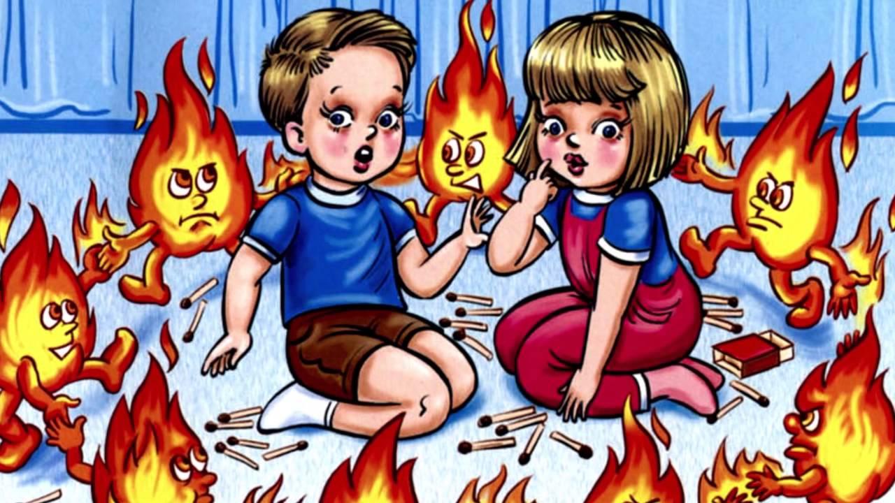 правила безопасности для дошкольников в картинках