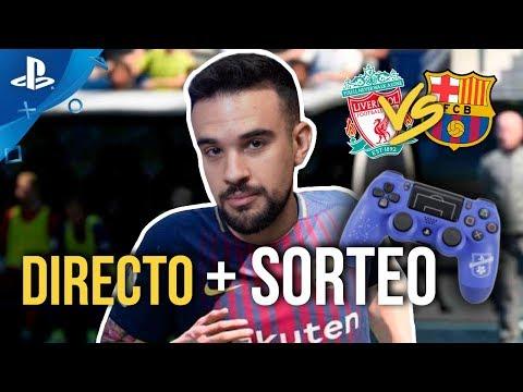 DIRECTO LIVERPOOL VS BARCELONA en FIFA: LMDShow juega contra suscriptores + PREMIO