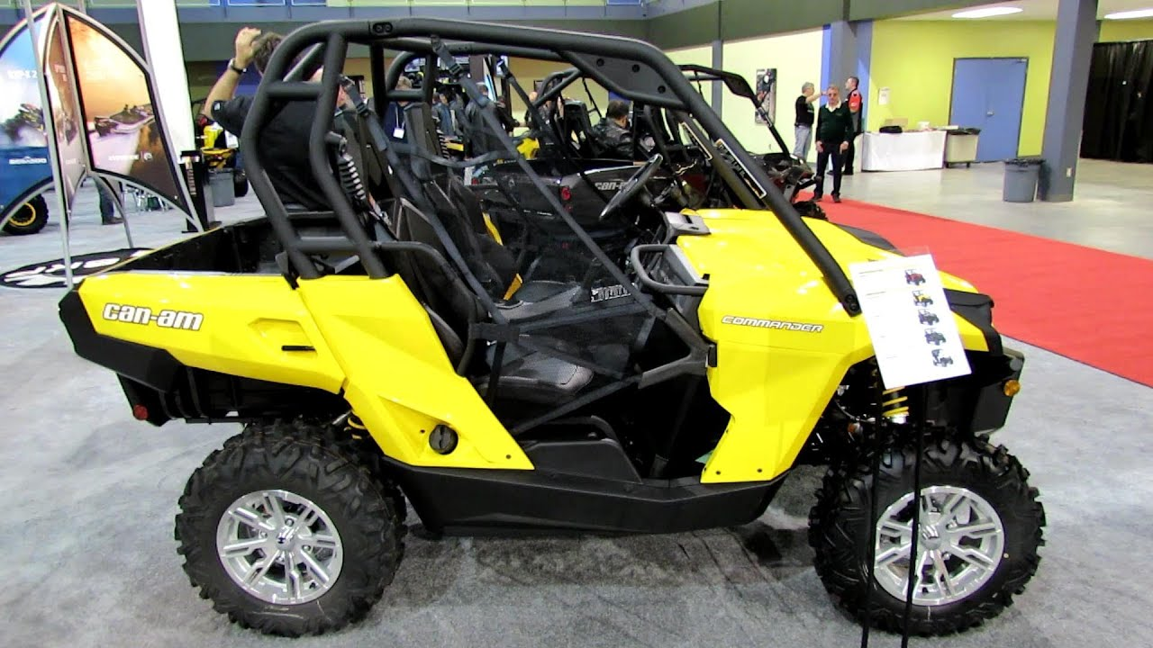 2013 can am commander 800 side by side atv 2012 salon